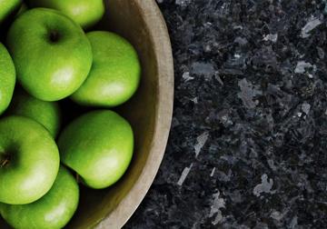Granite - Apples in a bowl